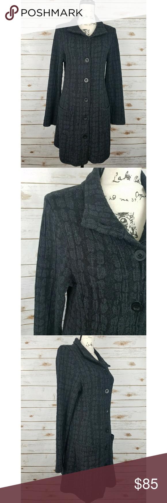 Eileen Fisher Button Up Cardigan Sweater Wool Mix | Eileen fisher ...