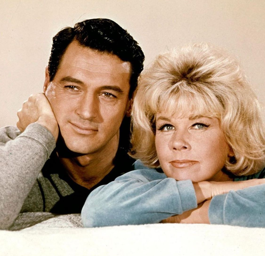 Rock Hudson Doris Day From Their 1964 Film Send Me No Flowers Doris Day Movies Rock Hudson Hollywood Couples