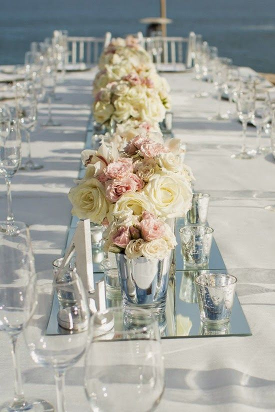 Table Centerpieces For Wedding Centerpieces Beach Wedding Simple