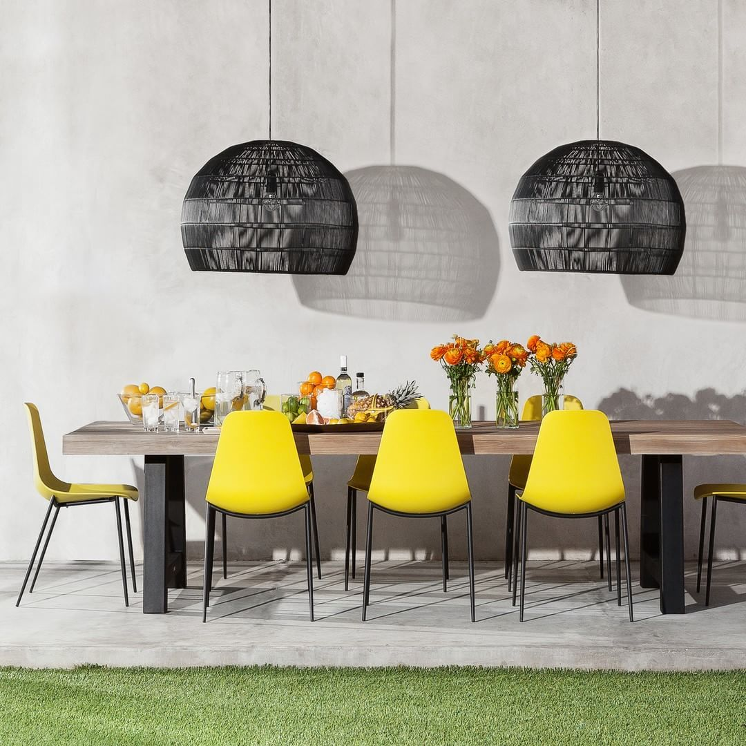 The Sveltichai Dining Chairs Yellow Dining Chairs Chair