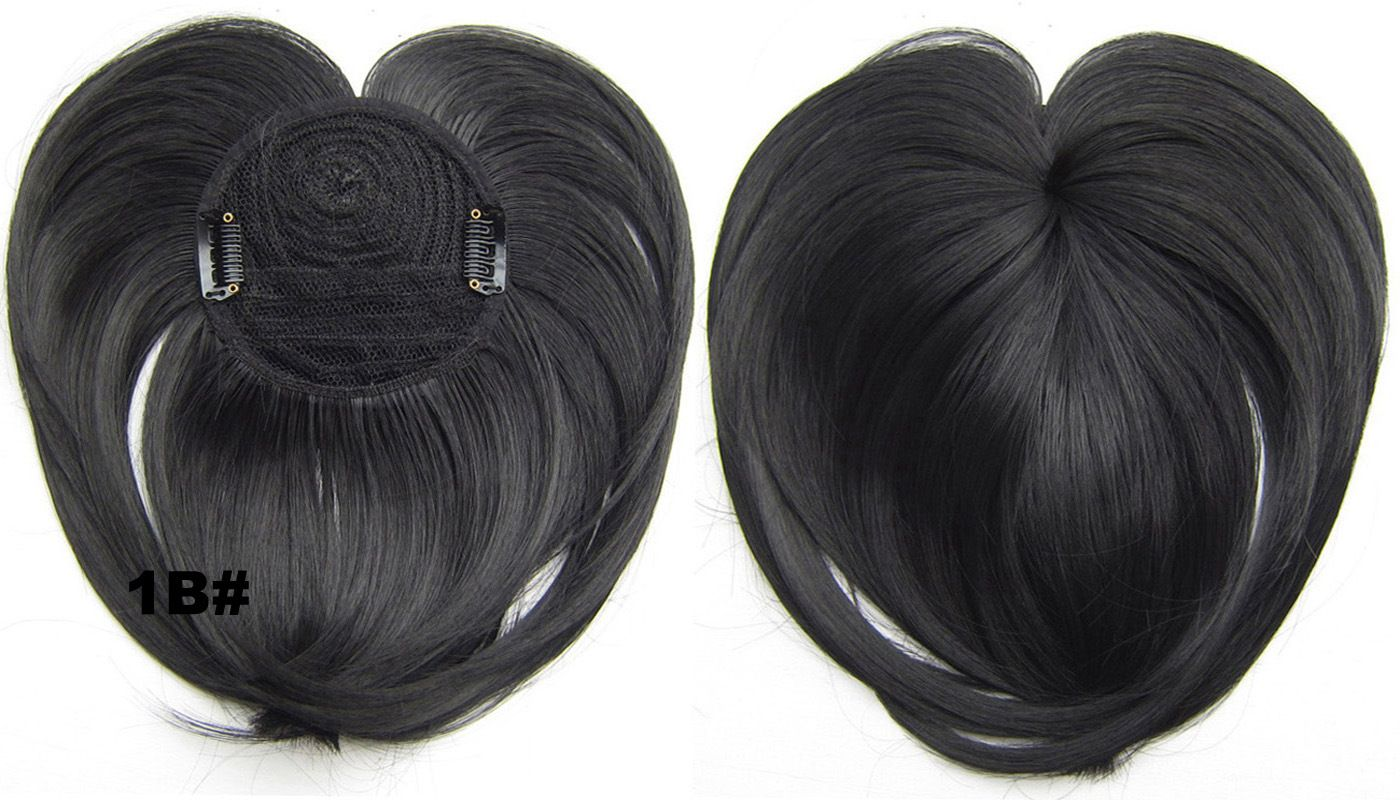Girls Popular Straight Short Bangs Clip In Synthetic Hair Extension