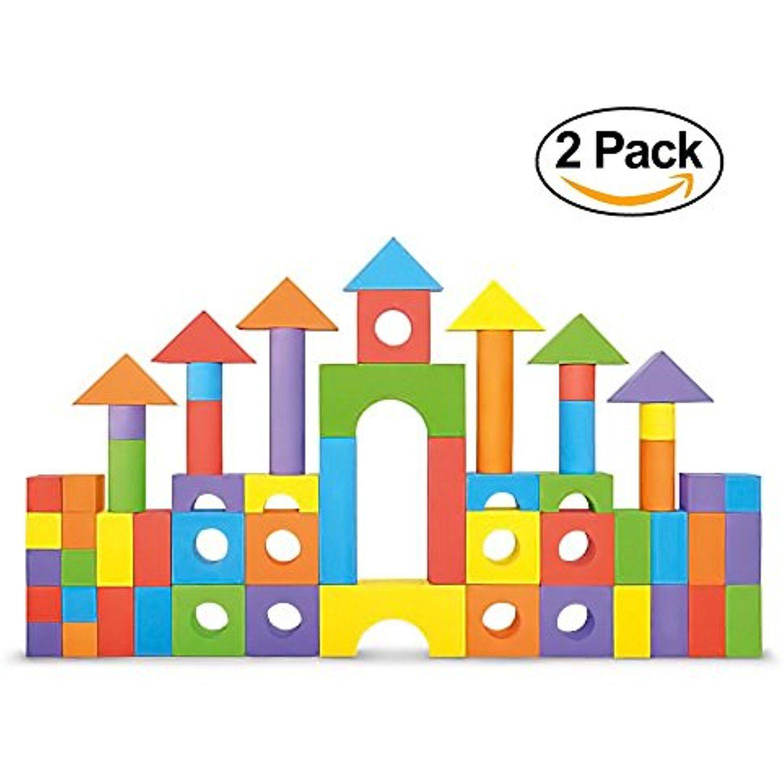 Click N Play Non-Toxic Foam Blocks Building Block /& Stacking Block Amazing Toy
