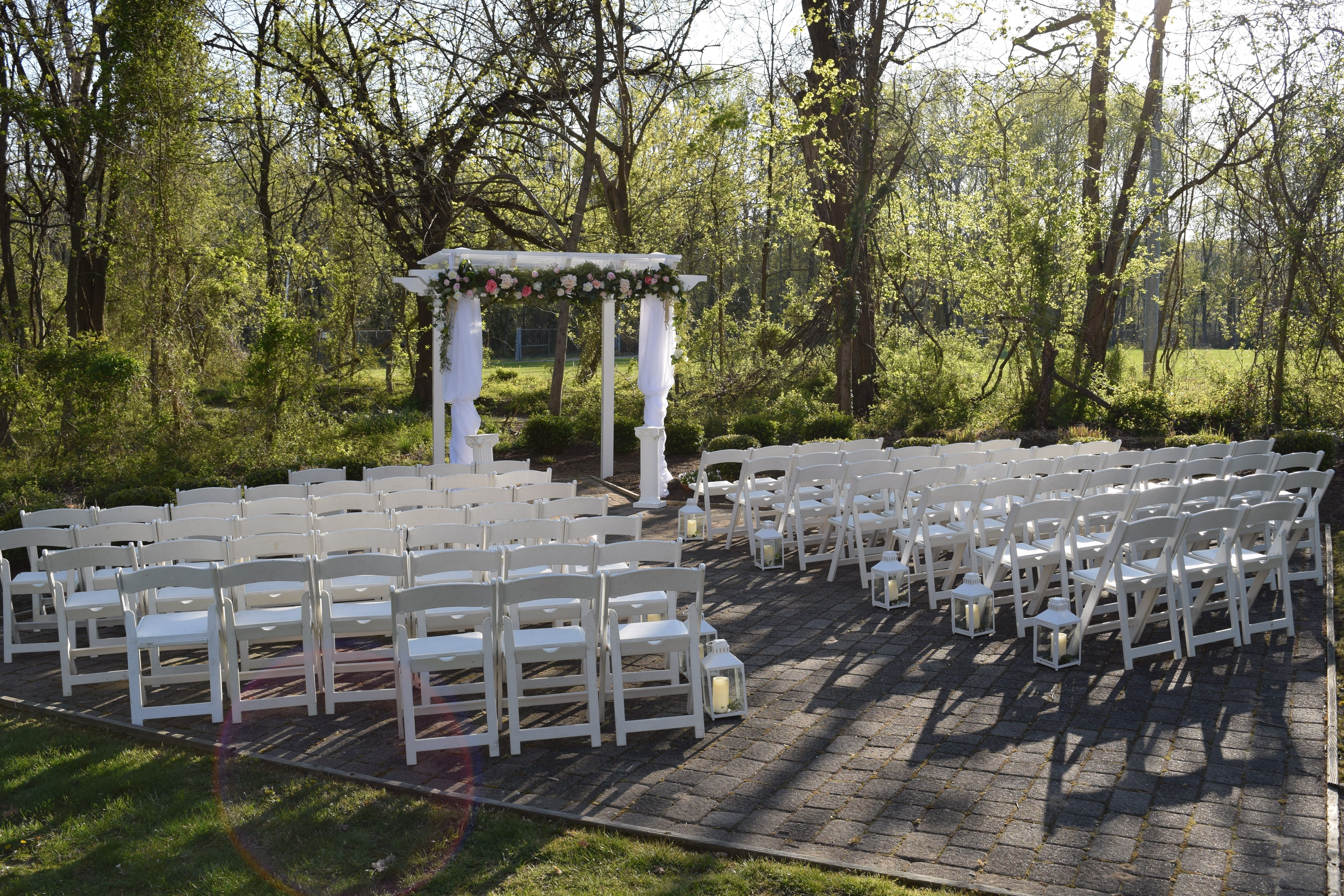 Historic Savage Mill Manor House Wedding ReceptionOutdoor Ceremony Putting On The Ritz Catering