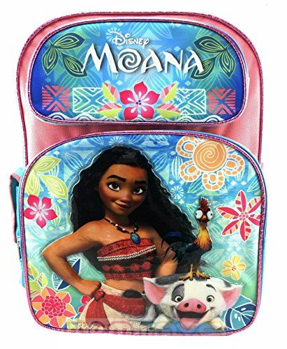 459ad3c73b30 Disney Moana Pink Blue Backpack 16 for kids -- Check out the image ...