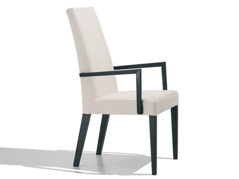 Gepolsterter Stuhl mit Armlehnen ANNA LUXE by Andreu World