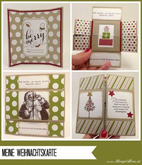 stampin up stempelherz workshop weihnachtskarten. Black Bedroom Furniture Sets. Home Design Ideas
