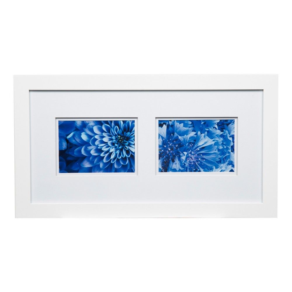 Multiple Image Frame White 8x10 - Gallery Solutions | Multiple ...