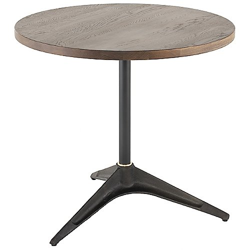 Compass Bistro Round Table By District Eight At Lumens Com Bistro Table Solid Oak Rectangle Dining Table