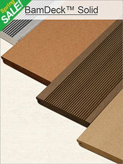 Bamdeck Outside Flooring Decking Material Outside Flooring Composite Decking