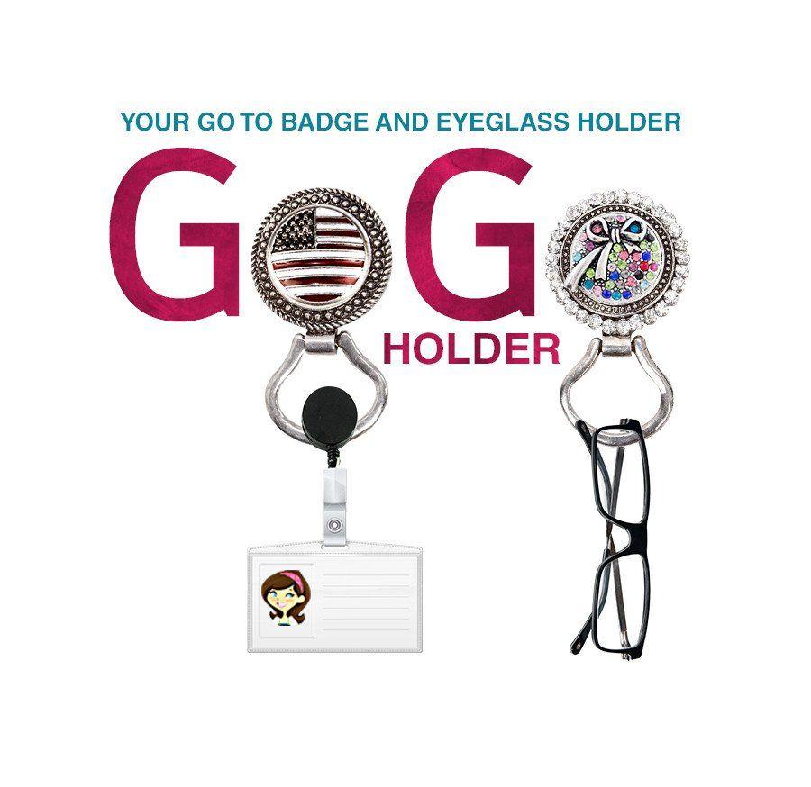 GoGo Holder Magnetic Badge and Eyeglass Holder
