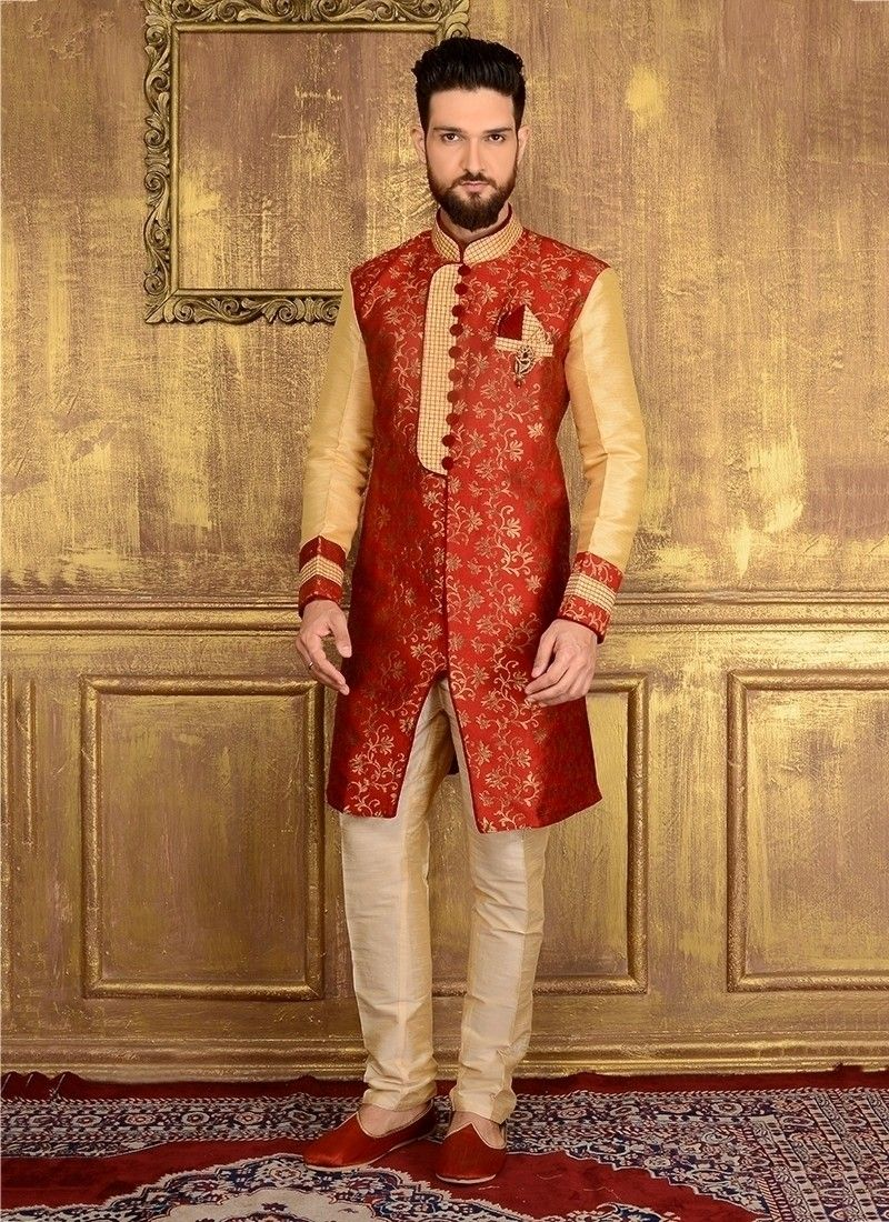 a1393f21a633 HD Images Of Indo Western Latest Sherwani Designs 2018 For Men ...