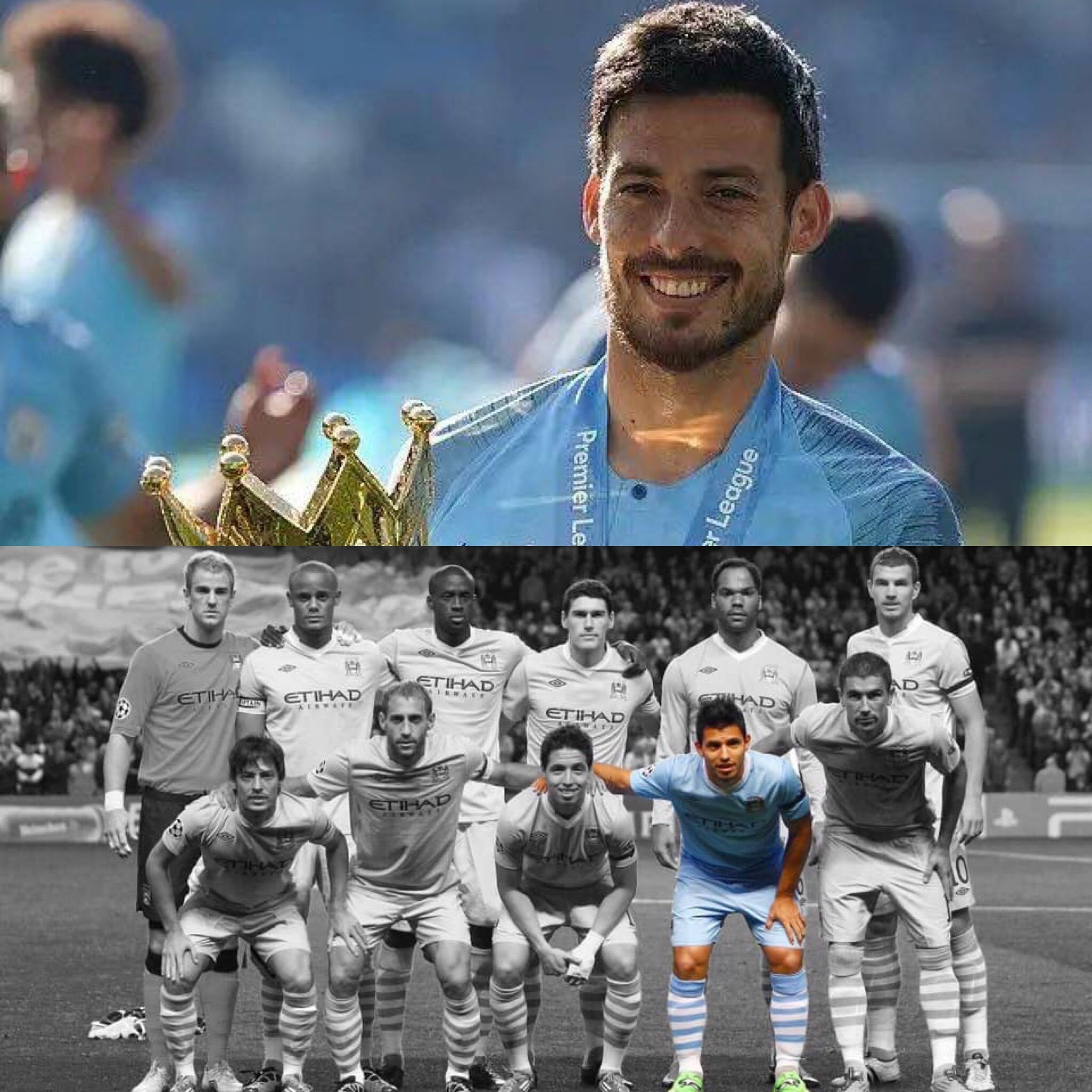 David Silva will leave Manchester City at the end of the