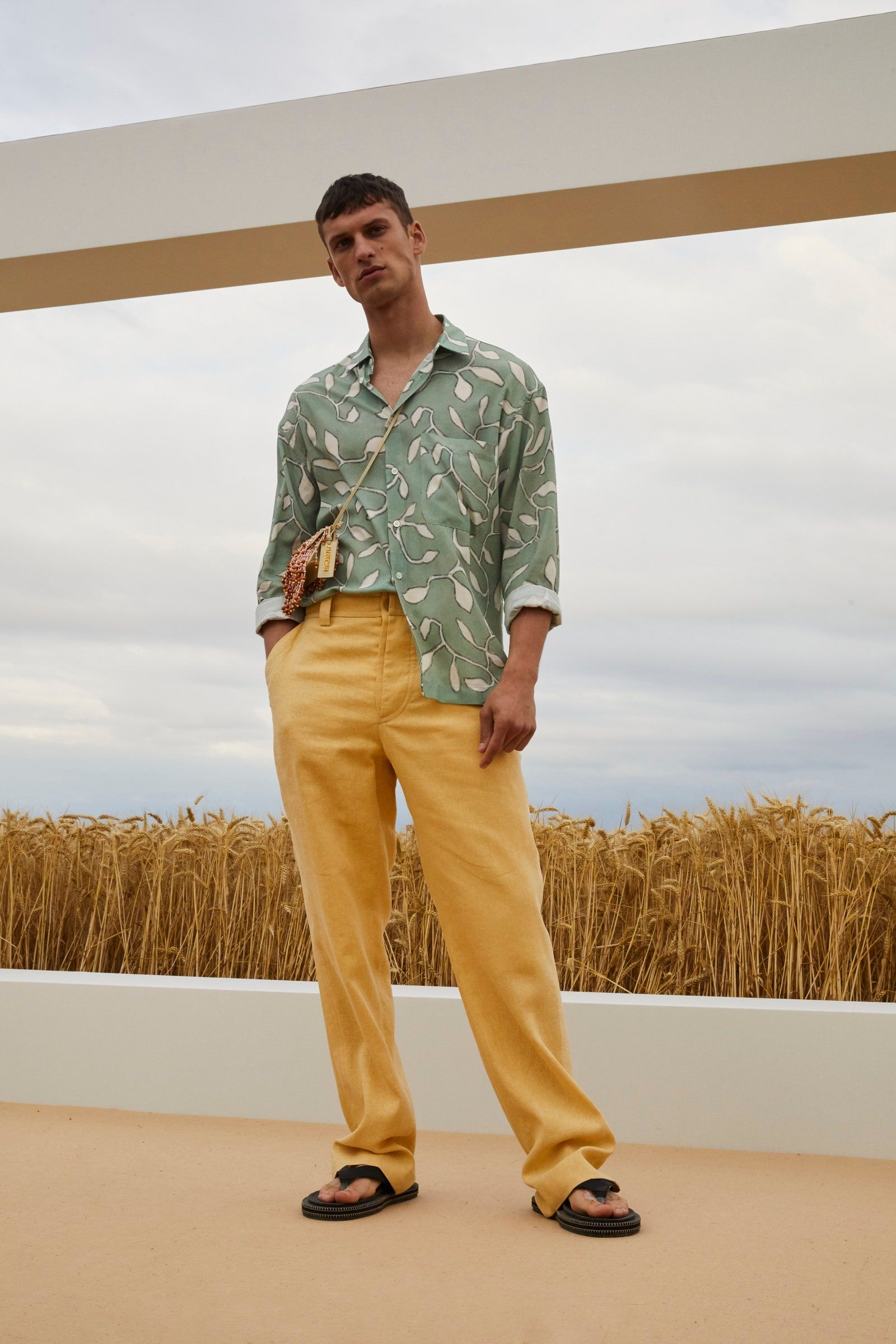 Go Behind the Scenes at the Jacquemus Spring 2021