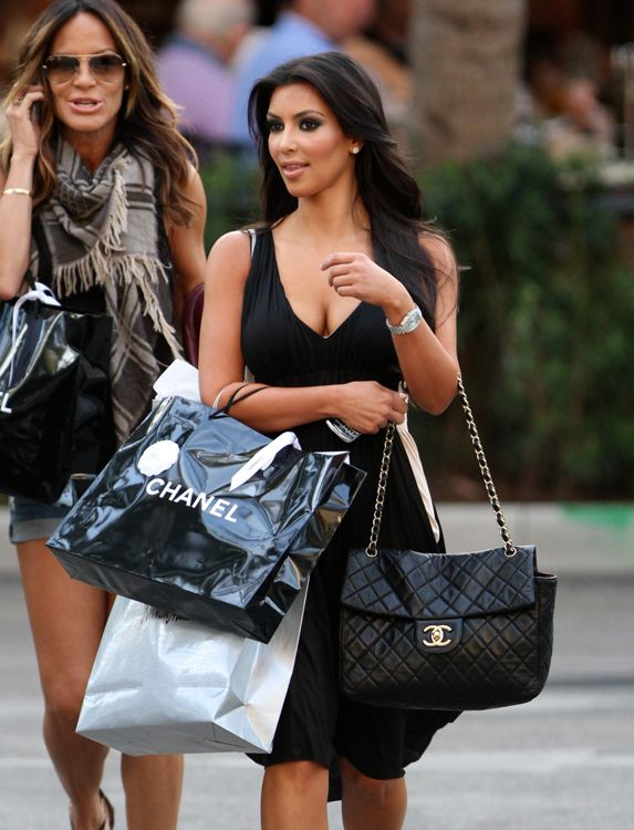 7d51e693b369 10 Celebs Who Fully Indulge in Their Chanel Obsession. The Many Bags of Kim  Kardashian 68