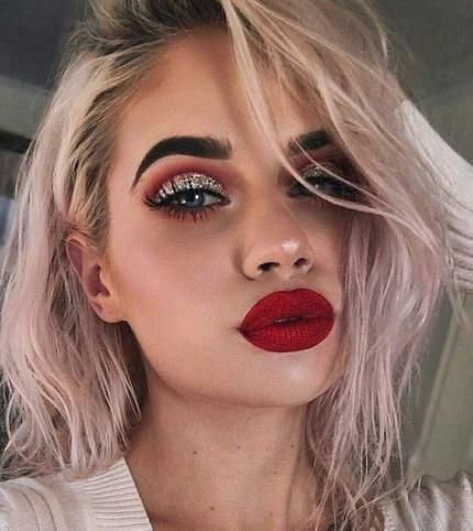 Super eye makeup formal prom red lips 60 ideas #summermakeuplooks looksforbrowneyes looksforblackwomen #glamma #style #shopping #styles #outfit #pretty #girl #girls #beauty #beautiful #me #cute #stylish #photooftheday #swag #dress #shoes #diy #design #fashion #Makeup