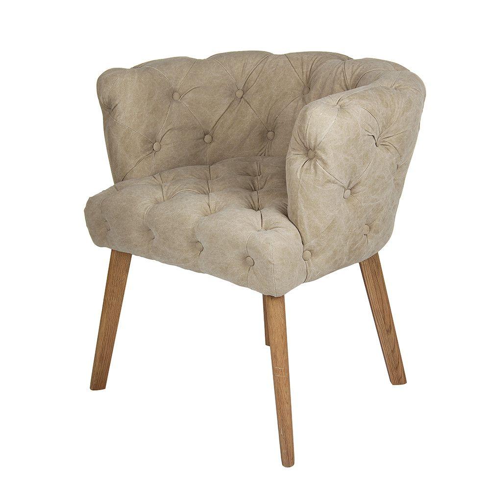 Buy chehoma cosy canvas chair amara contemporary furnituremodern