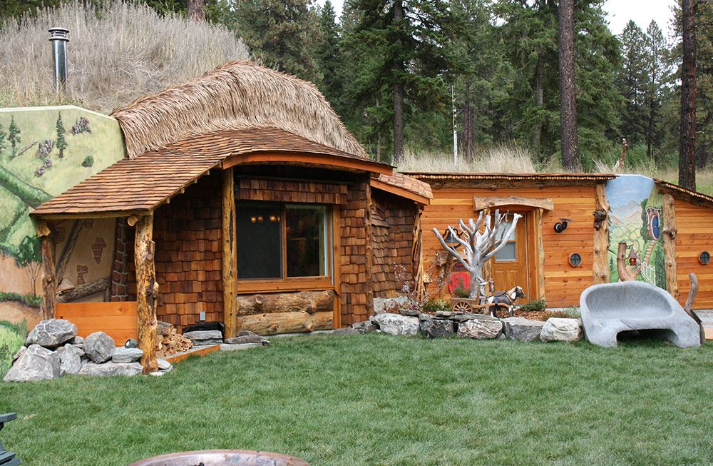 Hobbit House Trout Creek Montana The Hobbit House Of Montana Is A