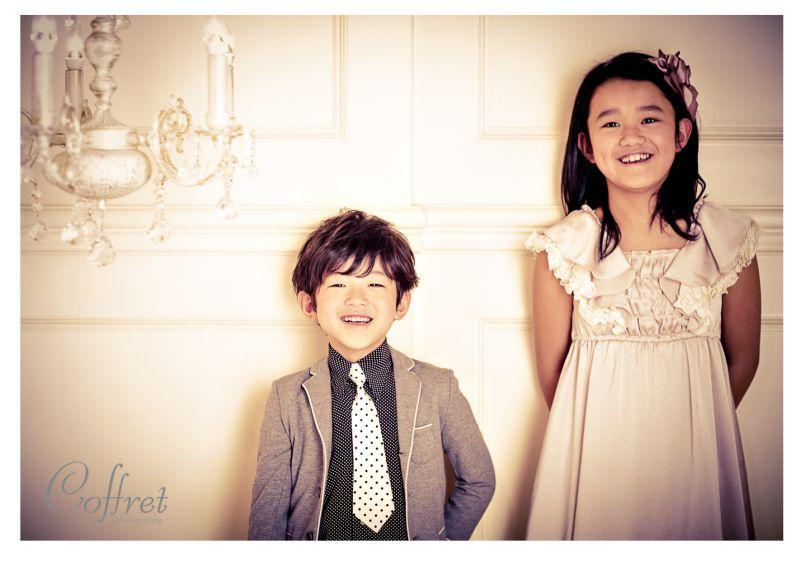 先日のお客様 *つばさくん なぎさちゃん*|Coffret photography staff blog