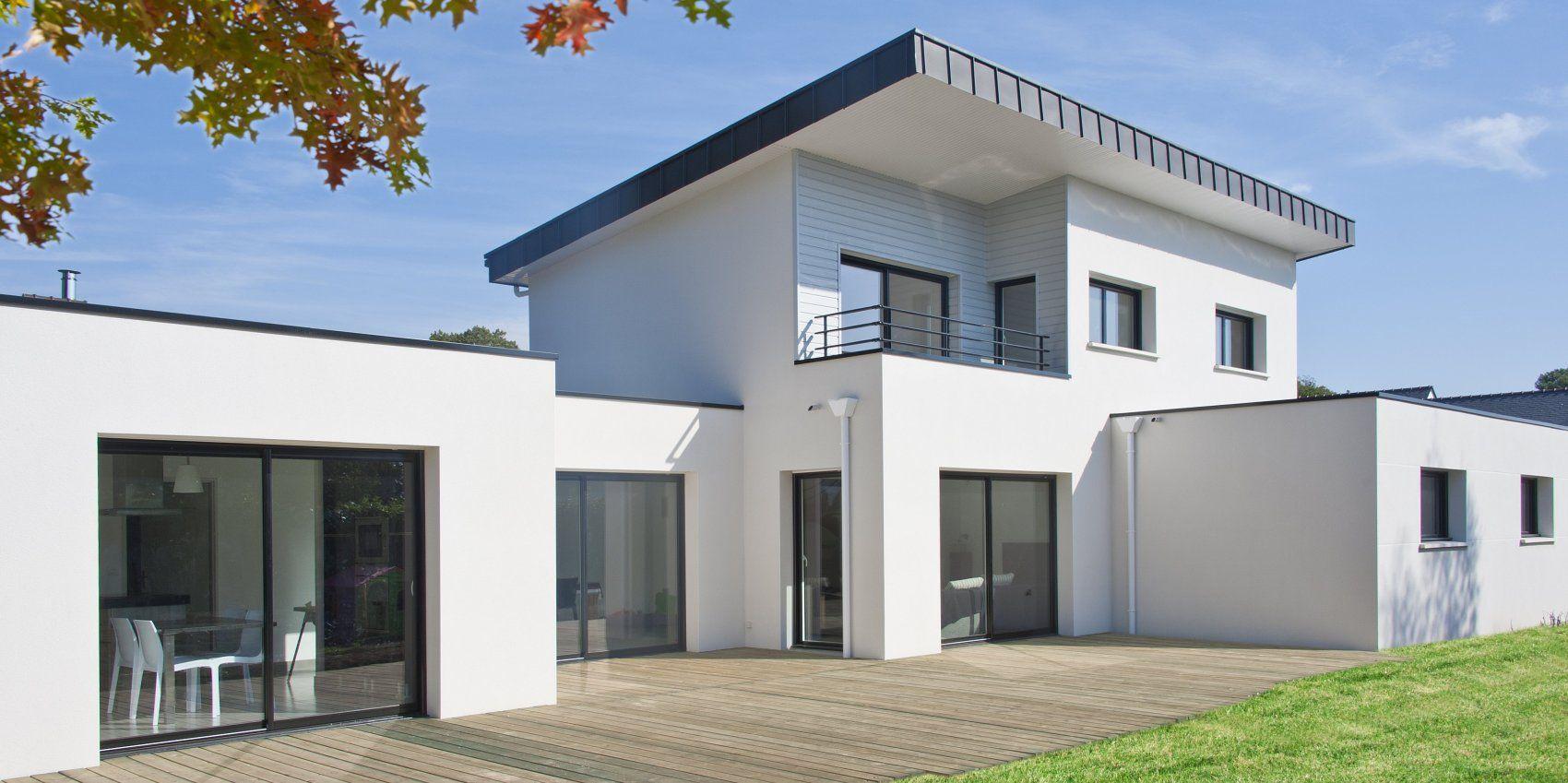 Construction maison contemporaine Morbihan | Idées de maison à ...
