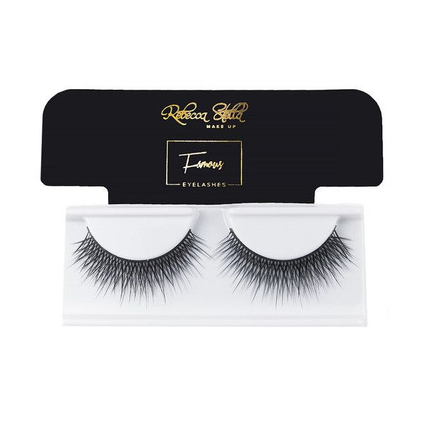 70eabed076d Rebecca Stella Famous Lashes ❤ liked on Polyvore featuring beauty products,  makeup, eye makeup