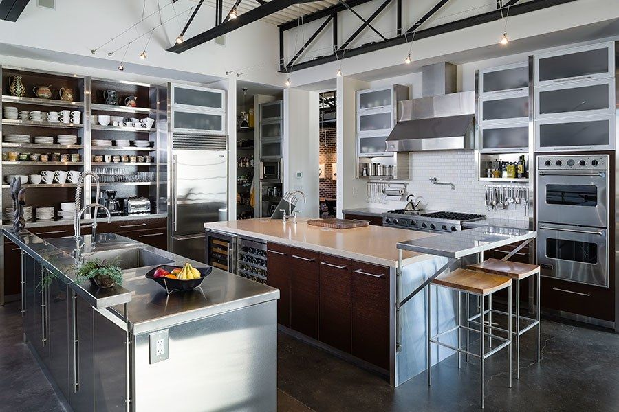 Tour A 9,000SquareFoot IndustrialStyle Home Home