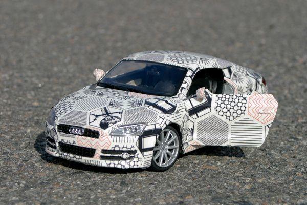 Car Wrap Repeat Pattern Emily Spurlock Car Wrap