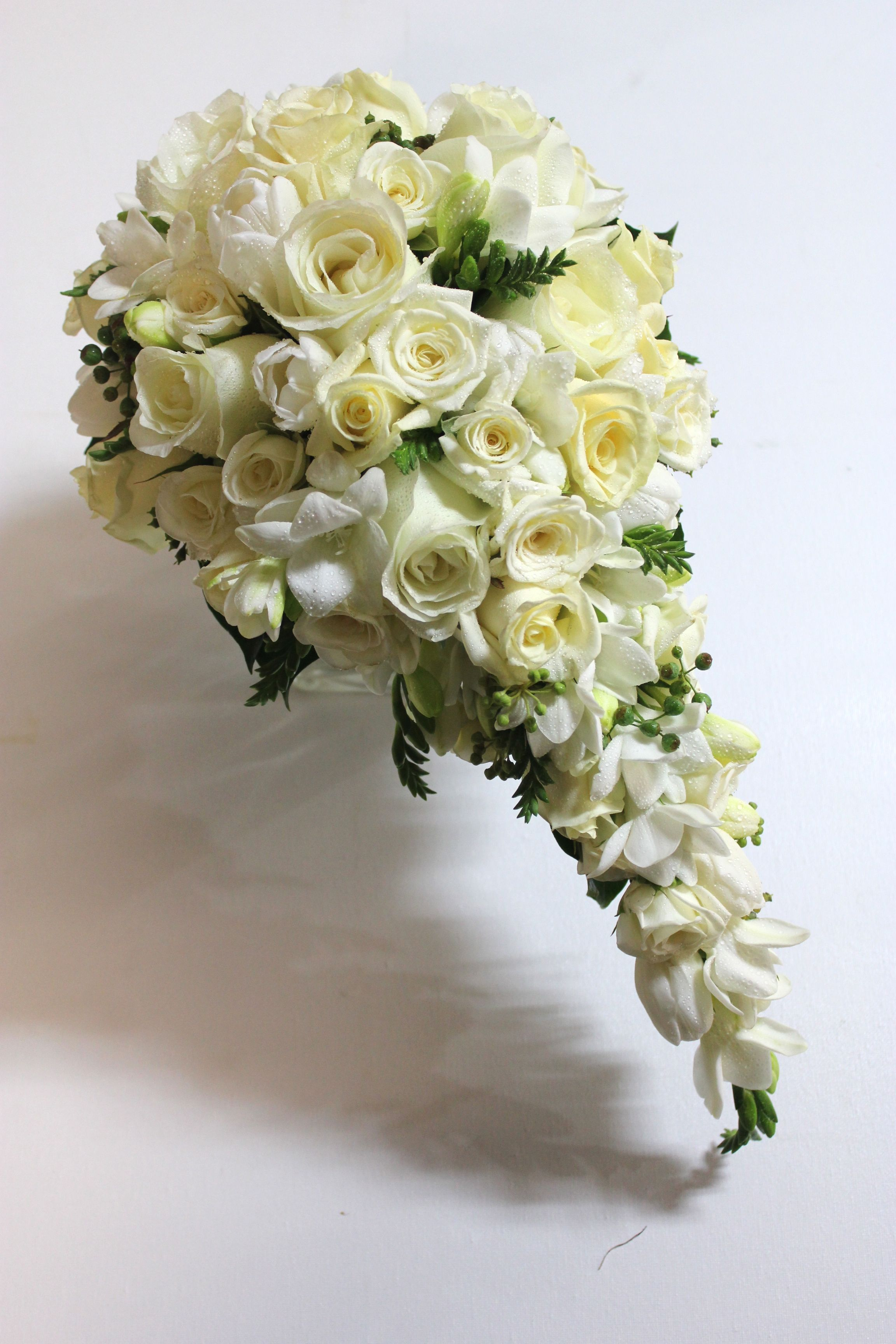 L love cascade bouquets and this one was a stunner wedding flowers l love cascade bouquets and this one was a stunner izmirmasajfo Choice Image