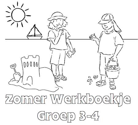 Zomer Werkboekje Groep 3 4 Zomer Pinterest Zomer