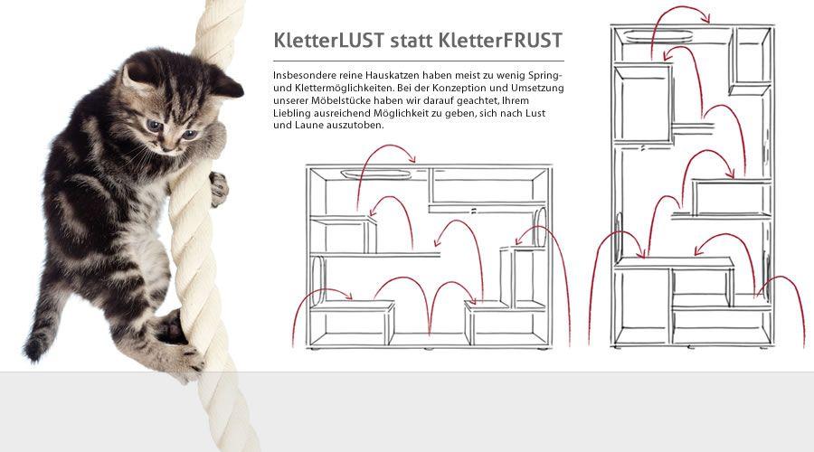 Klettermöglichkeiten FURcat Modelle