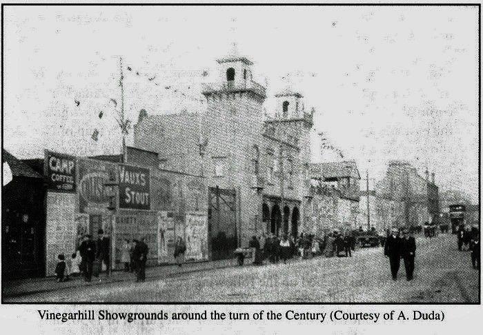 Vinegar Hill Showgrounds at turn of century, Camlachie, Glasgow.