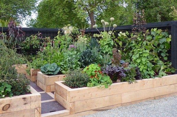 Naturalistic edible garden in NZ Garden Pinterest Edible