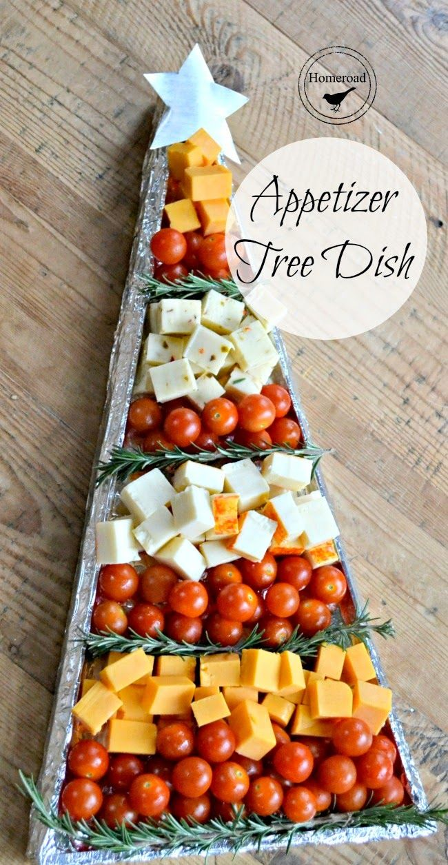 Christmas Appetizer Tree DIY Tray Christmas appetizers