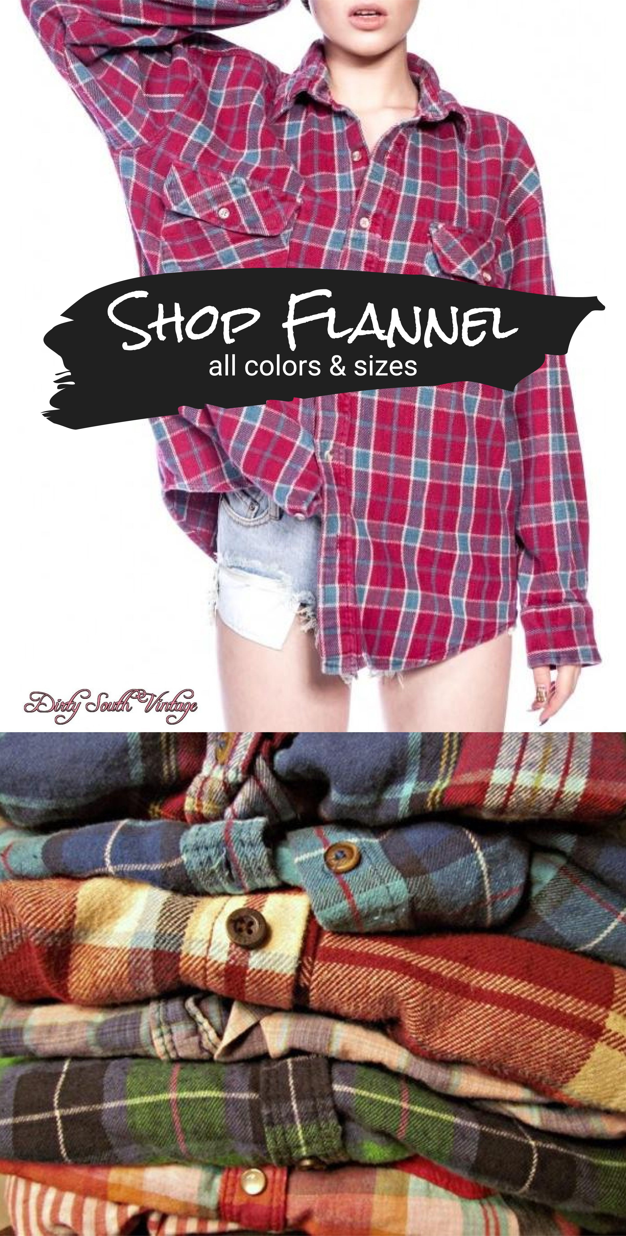 Flannel shirt outfit women  Flannel Shirts Unisex Mystery Vintage  Upcycled Clothing