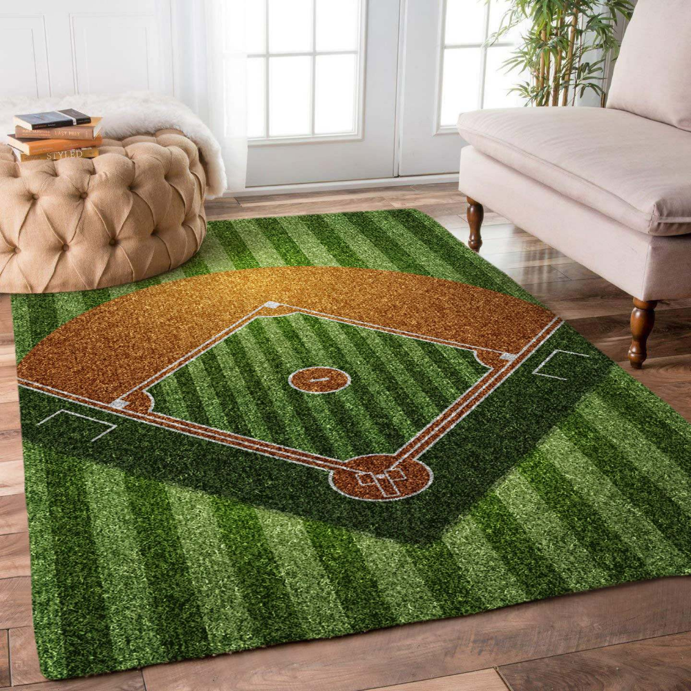 Pin By Sonyja Bivins On Diy Baseball Rugs