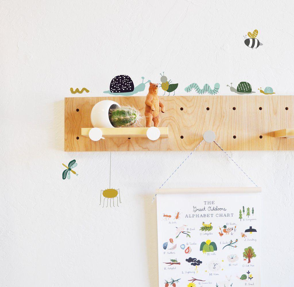 Wall decal bugs life wall sticker room decor bedroom boys