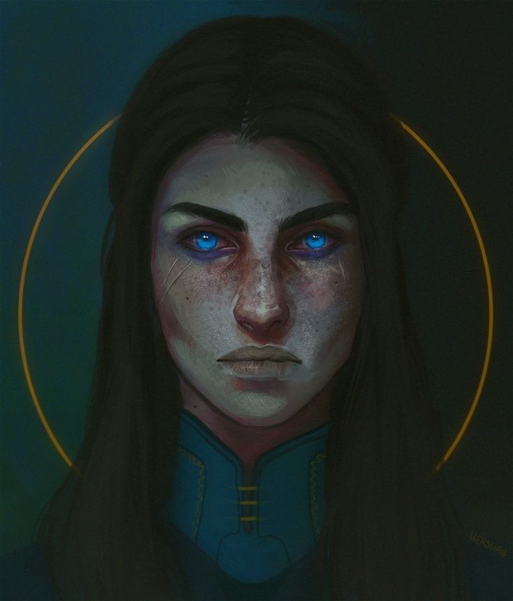 The girl with the blue eyes mayraieski