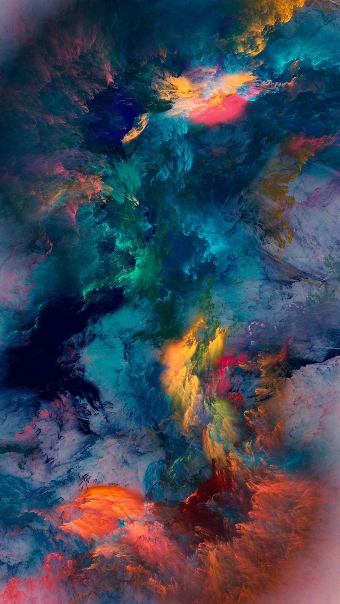 colour storm wallpaper | digital art in 2018 | pinterest | iphone