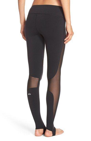 9390990f8e088 Alo 'Coast' Mesh Inset Stirrup Leggings | Stylish Threads ...