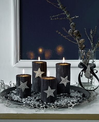 white life adventskranz advent wreath advent. Black Bedroom Furniture Sets. Home Design Ideas