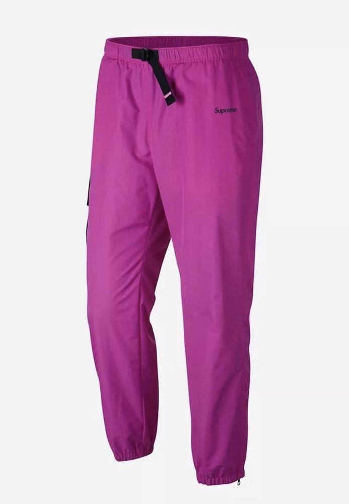 NEW NikeLab Supreme Nike Humara Trail Running Track Pant Pink Large 921636 640