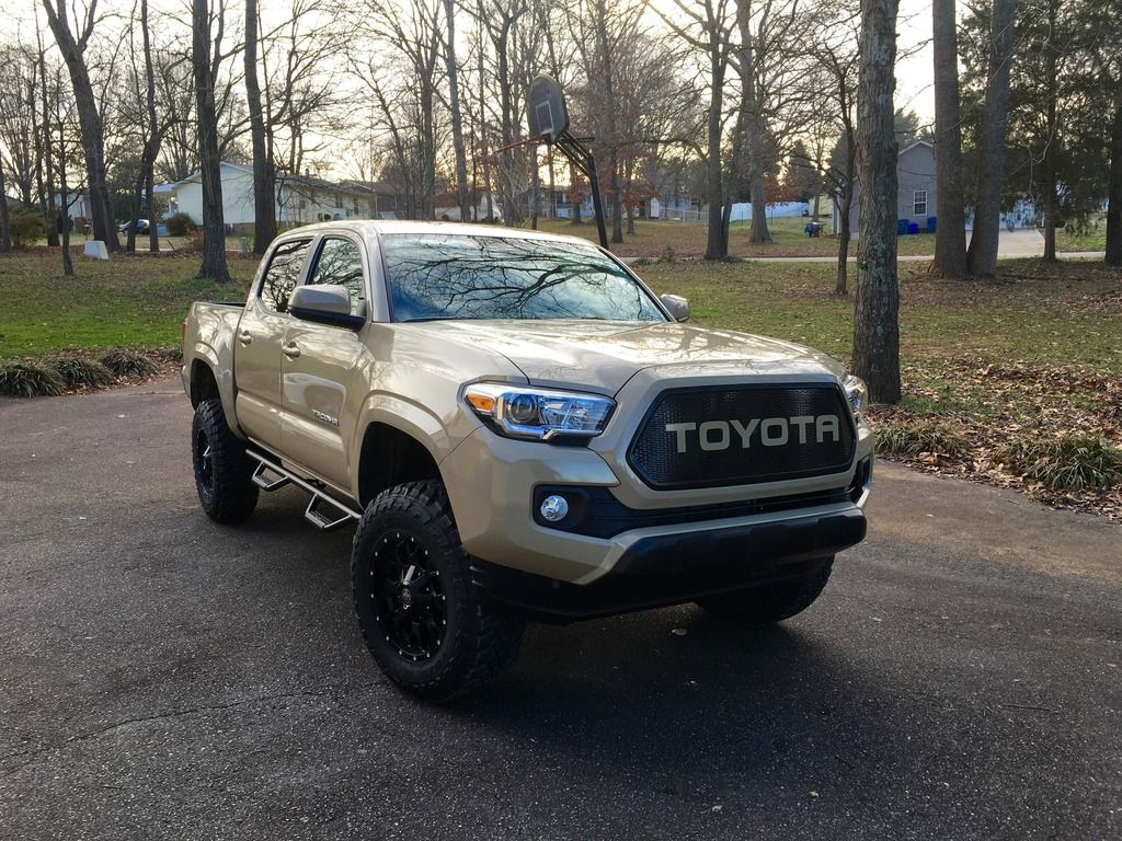 Color matched 2016 tacoma mesh grill