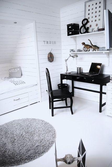 kinderkamer zwart wit - google zoeken - kamer marijn | pinterest, Deco ideeën