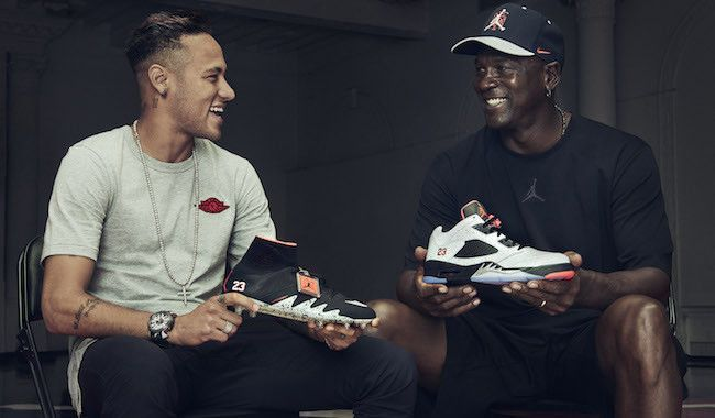 Brisa Plano Toro  Michael Jordan And Neymar Came Together For The Launch Of Jordan's First  Soccer Boot | Neymar, Neymar jr, Nike design