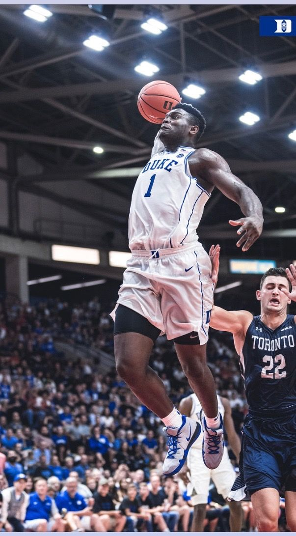 Zion Williamson Duke blue devils basketball, Nba league