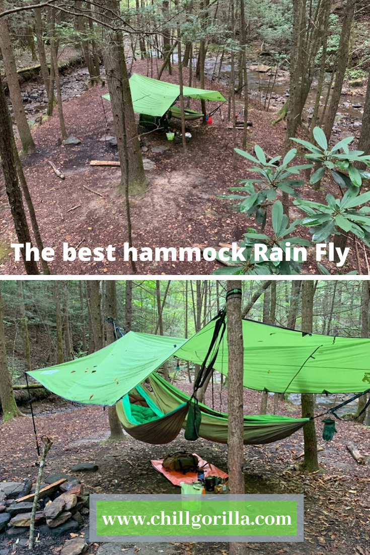 Thanks Billy for trusting our huge 12' rain fly ...