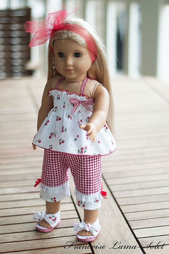 American Girl doll clothes 18 doll by Ms Zannie's #girldollclothes