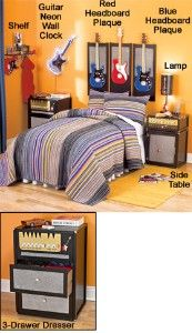 guitar room decor the lakeside collection