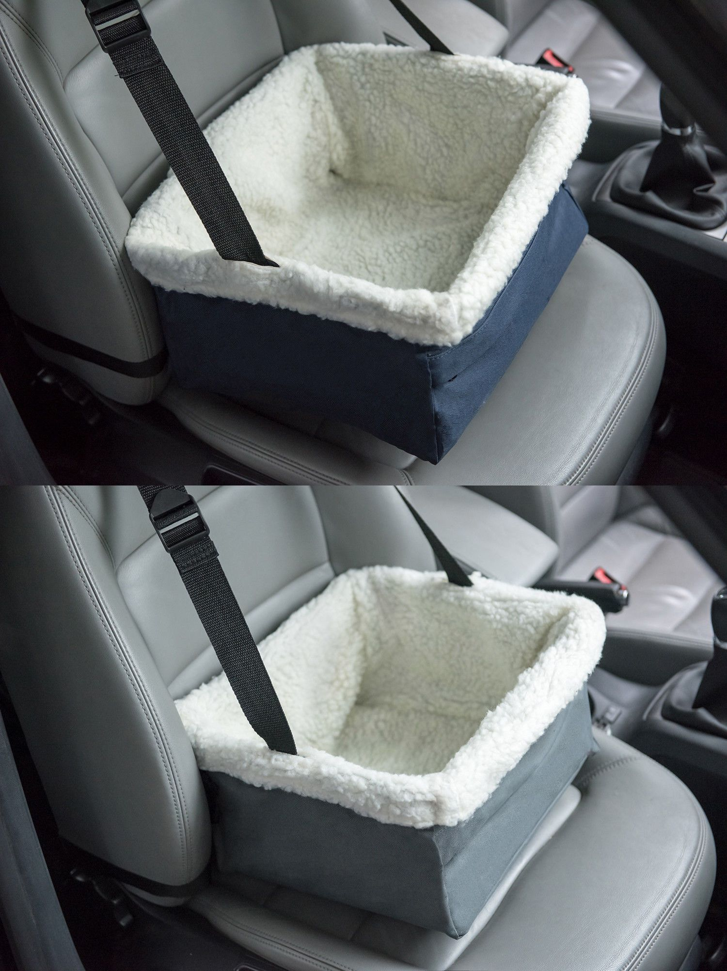 Car seats and barriers portable pet car seat folding dog cat
