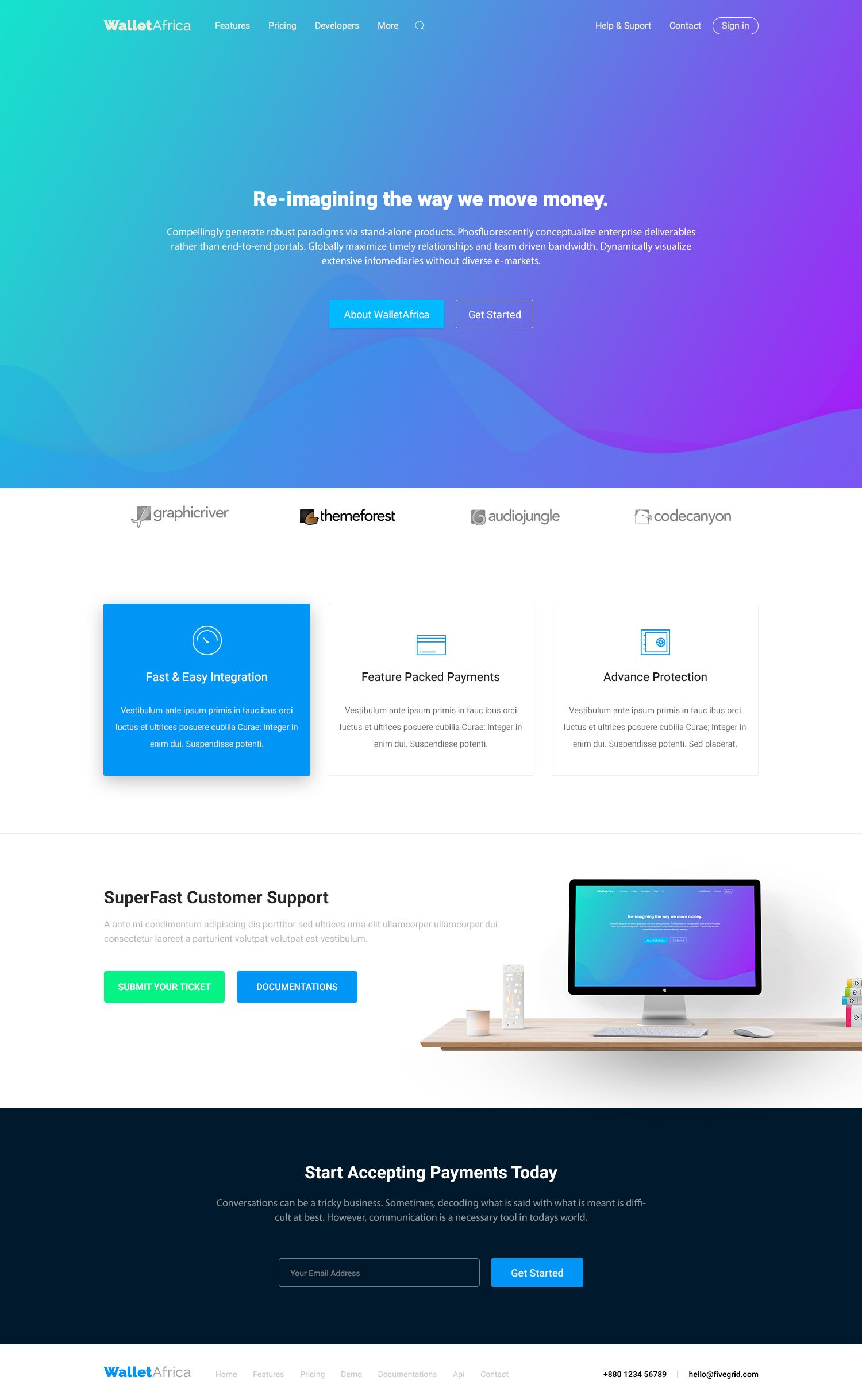 Ui8 Products Online Money Transfer Ui Ux Design Website Template Templates