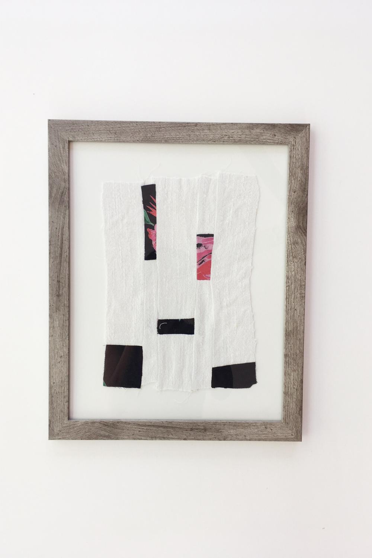 Harmony 11 X 14 Inch Original Textile Art Framed Meghan Pauley Nespeca In 2020 Abstract Art Quilt Textiles Artwork Fabric Art